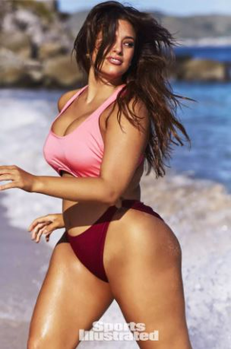 Ashley Graham en Sports Illustrated (Foto: Sports Illustrated)