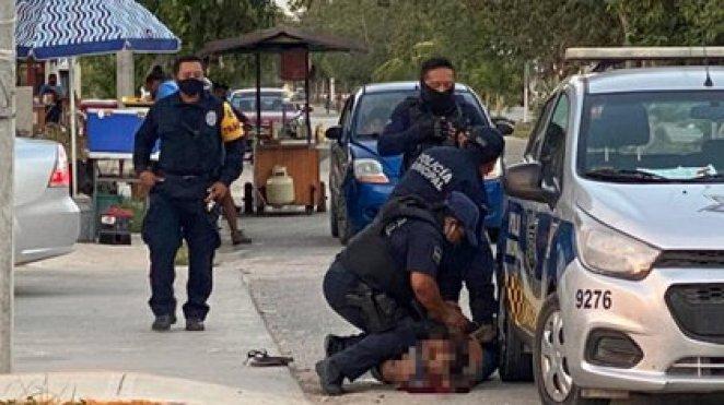 policias quintana roo tulum mujer salvadoreña mexico brutalidad policiaca 28-03-2021