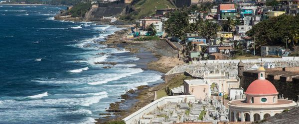 Vista de San Juan, en Puerto Rico