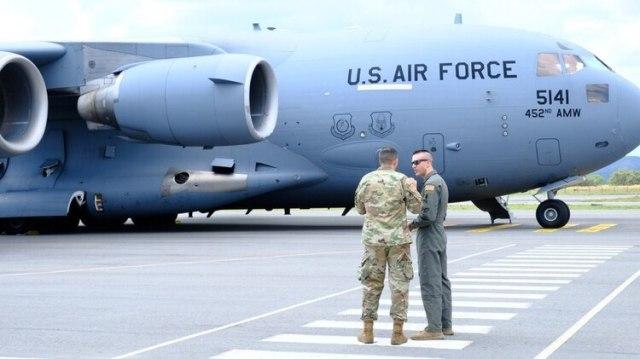 Fuerzas estadounidenses arribaron a Tolemaida para tomar parte en ejercicios militares con sus homólogos colombianos. Foto: Fuerzas Armadas Colombia