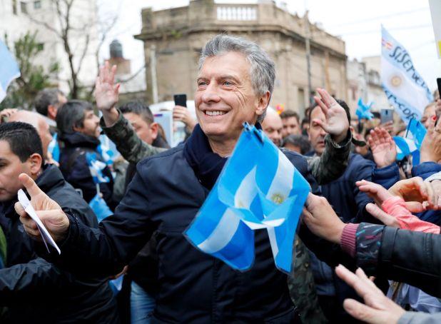 El presidente Macri volvió a pedir a sus seguidores que cuiden el voto. (Estudio Sisso Chouela)