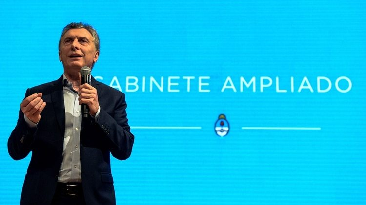 Mauricio Macri encabezó una nueva reunión de gabinete ampliado (Foto de archivo)