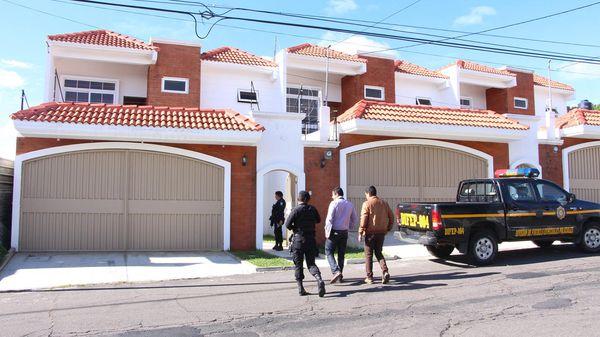 La casa donde fue detenido Contreras Chávez