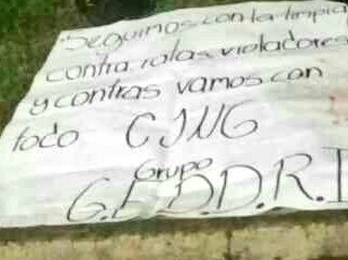 """Los aterradores narcomensajes del CJNG junto a cuerpos destazados en Morelia: """"Seguimos con la limpia de ratas"""""""