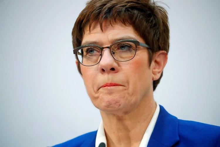 Annegret Kramp-Karrenbauer, presidenta del partido gobernante CDU (REUTERS/Hannibal Hanschke)