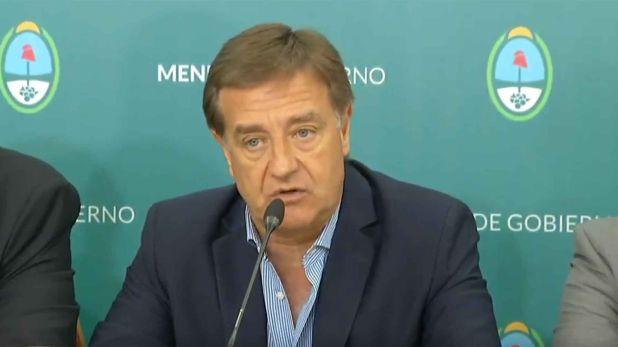 Rodolfo Suárez, gobernador de Mendoza