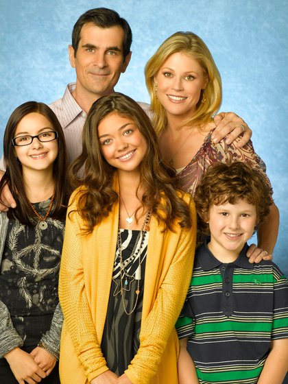 """Los Dunphys"", en la primera temporada de ""Modern Family"" (Foto: Bob D'Amico/Abc-Tv/Kobal/Shutterstock -5886190br-)"