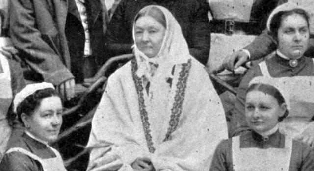 Florence a los 90 años, poco antes de morir