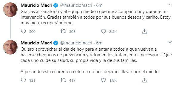 tuits macri