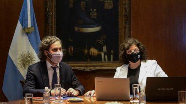 Santiago Cafiero y Carla Vizzotti, oficiaron de mediadores para intentar achicar las diferencias entre la Ciudad y la provincia