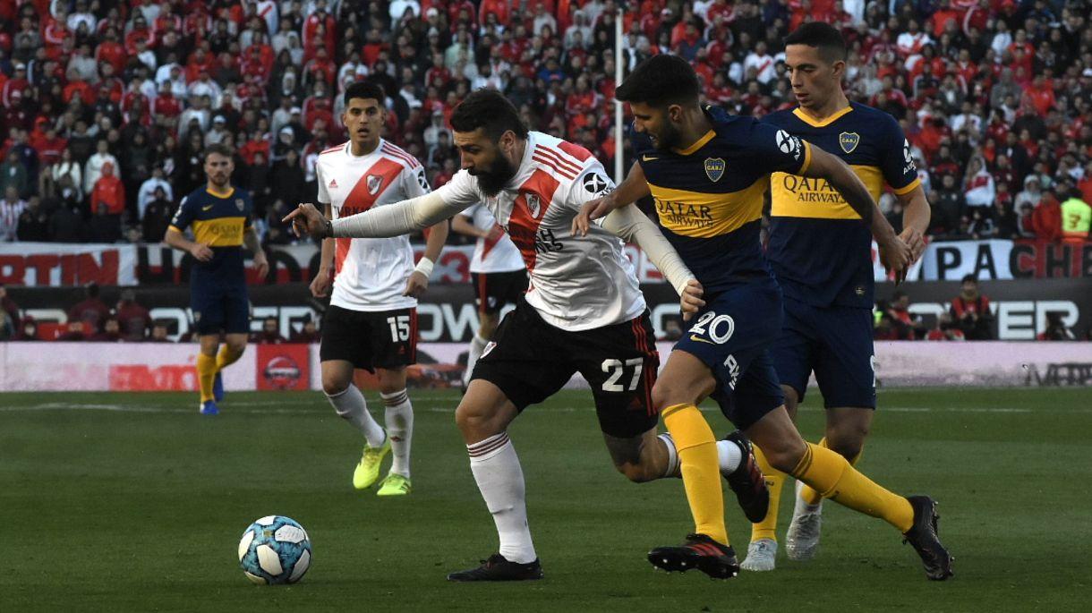 River y Boca se preparan para disputar la ida de las semifinales de la Libertadores este martes (Nicolás Stulberg)