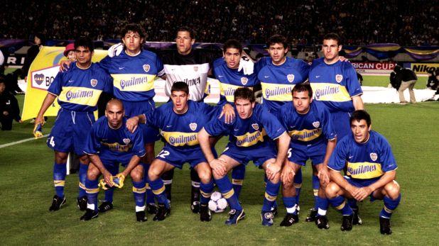 El equipo dorado que dirigió Bianchi: varios miembros trabajan actualmente en Boca (Grosby)