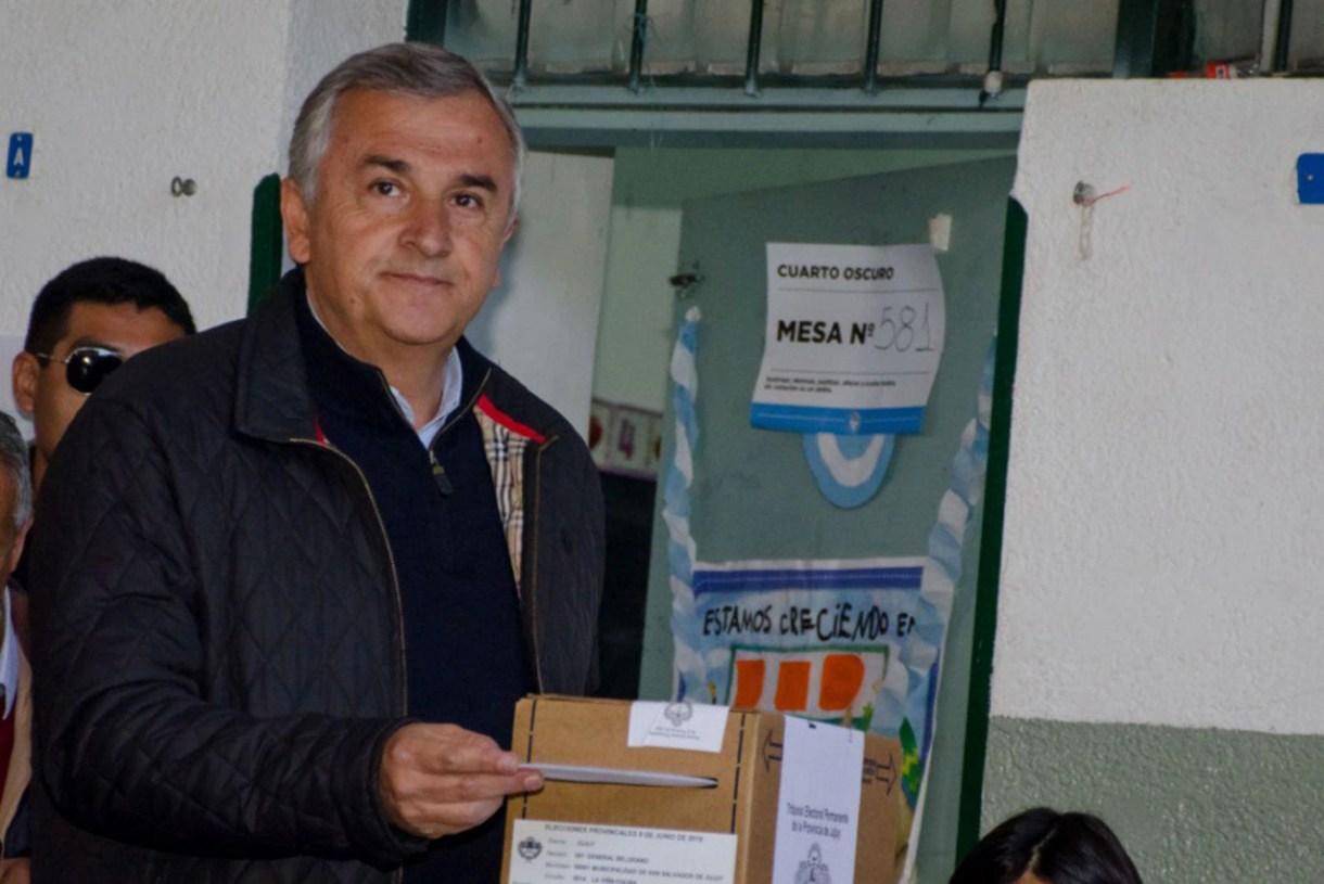 El gobernador de Jujuy, Gerardo Morales