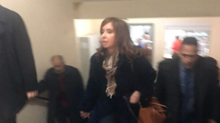 La ex presidente Cristina Kirchner