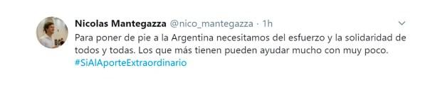 tuits intendentes respaldan impuesto a la riqueza nicolas mantegazza