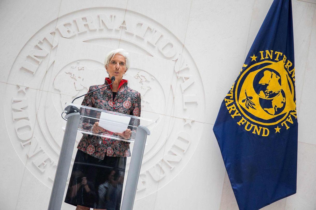 Chrsitine Lagarde, ex directora del FMI.