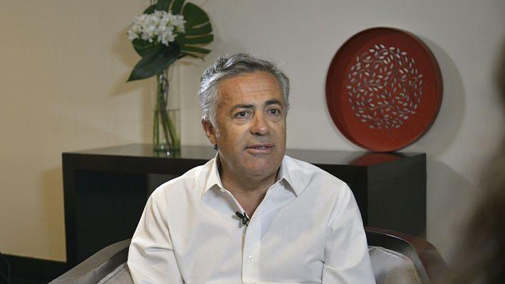 Alfredo Cornejo, presidente de la UCR, fue uno de los firmantes de la carta (Gustavo Gavotti)
