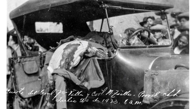 La foto de la escena trágica que apareció en los diarios del país