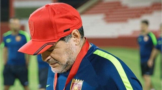 El ex capitán de la Selección dirige Al Fujairah de Emiratos Árabes (Diego Maradona Oficial)