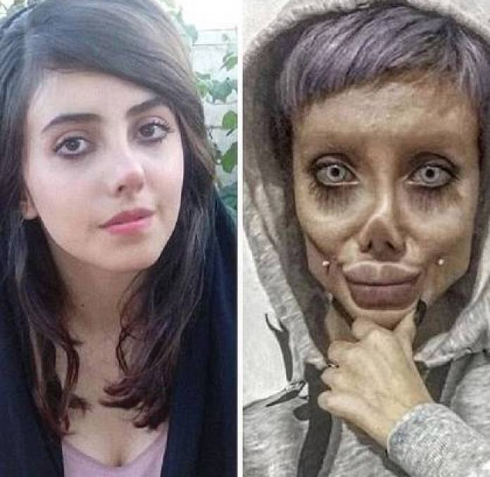 The own Sahar Tabar has explained that has not undergone so many cosmetic surgeries as pointed out by the media. (Photo: Instagram)