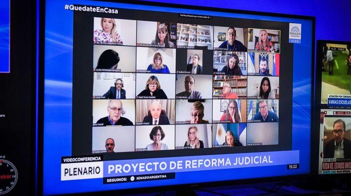 Reunión conjunta de las comisiones de Asuntos Constitucionales y de Justicia y Asuntos Penales