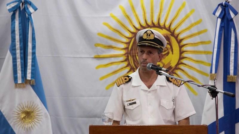"""El capitán Enrique Balbi confirmó que """"no habrá salvamento de personas"""""""