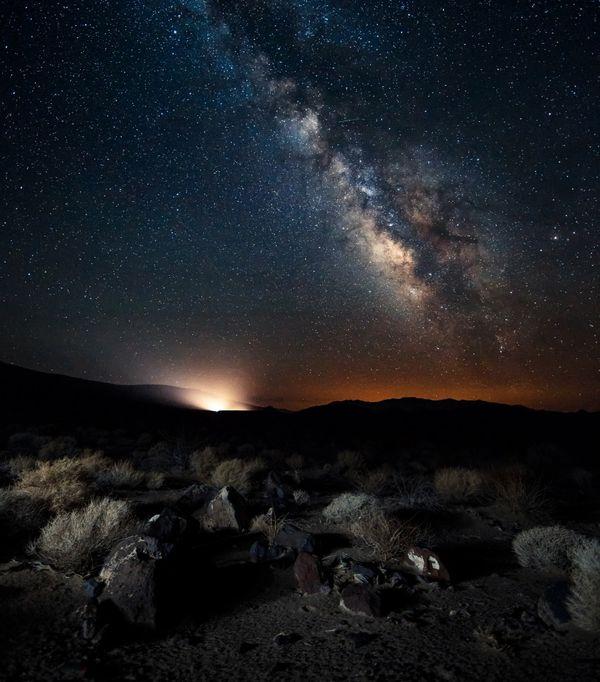 En el año 2013, la International Dark-Sky Association otorgó al Parque nacional del Valle de la Muerte su mayor certificación (iStock)