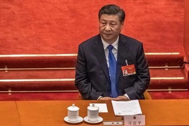El jefe del régimen chino, Xi Jinping, ordenó sancionar a funcionarios y entidades del Reino Unido (EFE)