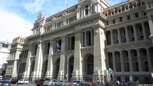 El palacio de tribunales donde se encuentra la Corte Suprema