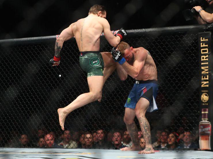 McGregor no recibió golpes y acertó una totalidad de 20 (Foto: USA TODAY Sports)