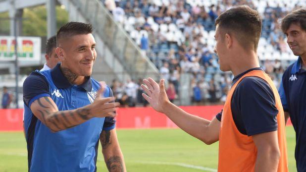 Ricardo Centurión seguirá como futbolista de Vélez tras jugar cedido el primer semestre (Foto Baires)