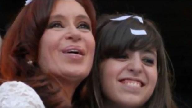 Cristina Kichner y su hija Florencia