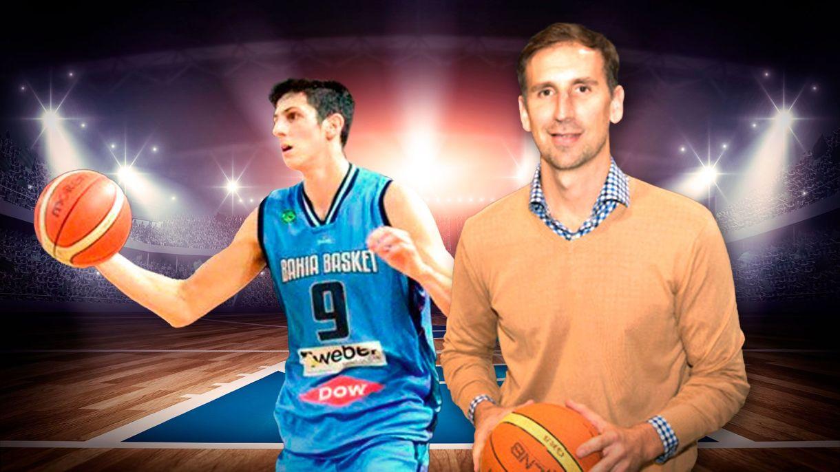 Leandro Bolmaro y Pepe Sanchez