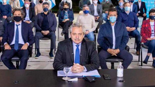 Mensaje de Alberto Fernández a los policías que protestan en la Quinta de Olivos