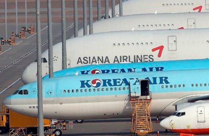 Korean Air planes at Seoul airport (EFE / EPA / YONHAP)