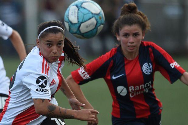 River y San Lorenzo no se sacaron ventaja por la novena fecha del fútbol femenino 2019/2020