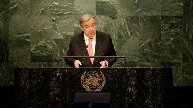 António Guterres, secretario general de la ONU (AP)