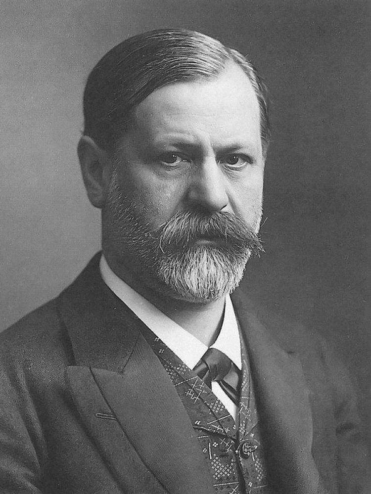 Foto de Sigmund Freud en 1905
