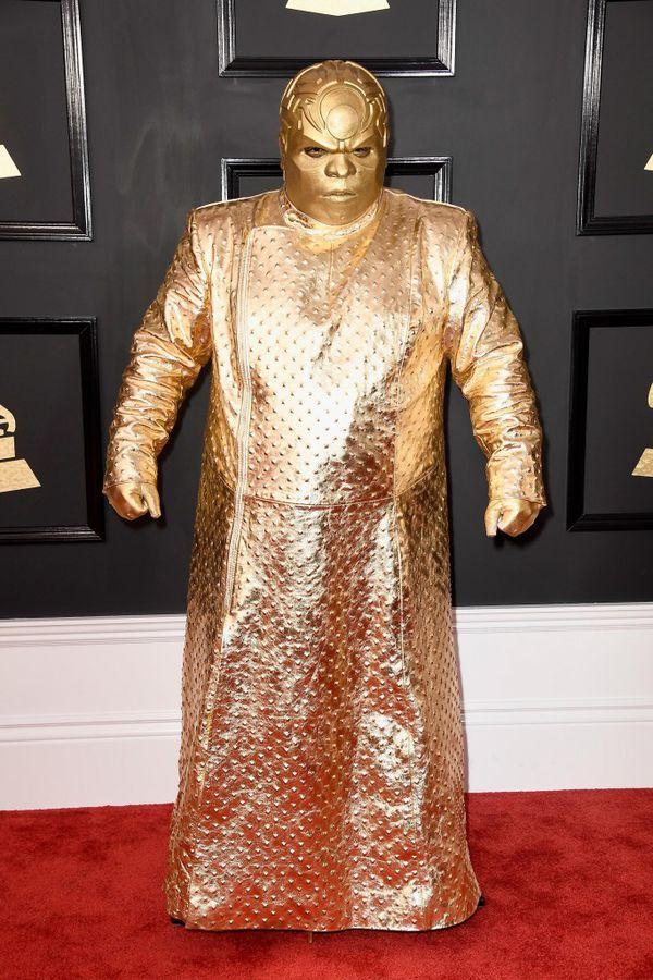 CeeLo Green impactó a todos con su outfit (Frazer Harrison/Getty Images)