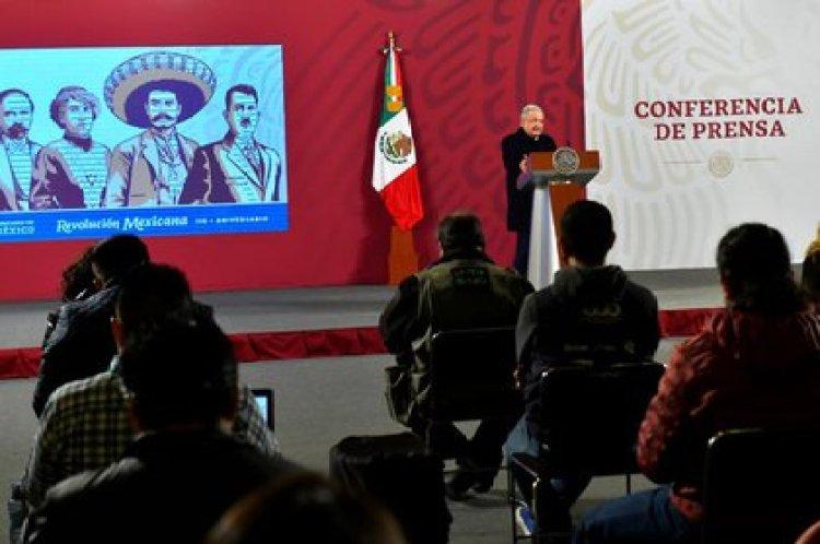 El Jefe del Ejecutivo narra que, después de la Revolución, surgió un partido que truncó el tránsito a la democracia (Foto: Presidencia de México)