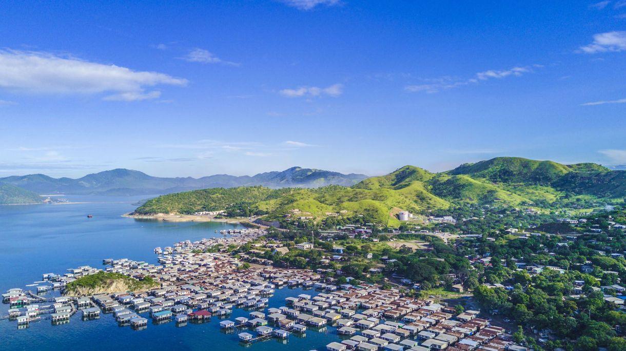 Conocida también como Pot Mosby, es la ciudad más grande de Papua Nueva Guinea