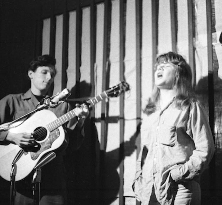 Jorma Kaukonen y Janis Joplin en San Jose, 1962 (Marjorie Alette)