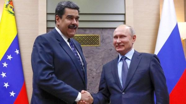 Nicolás Maduro junto con Vladimir Putin (Reuters/ Maxim Shemetov)
