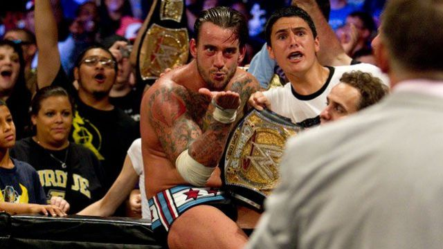 CM Punk Campeón WWE