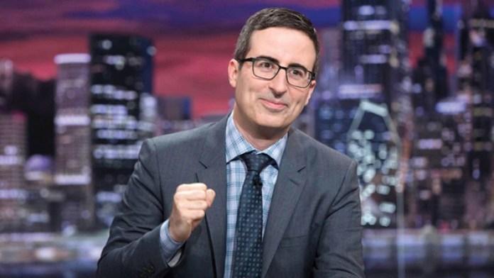 John Oliver, ganador del premio Emmy, cerró la semana negra de Facebook con una burla. (HBO)
