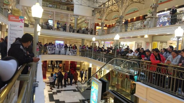 Las protestas en los shoppings de los militantes de la CTEP, que integra Grabois, inquietaron a Alberto Fernández