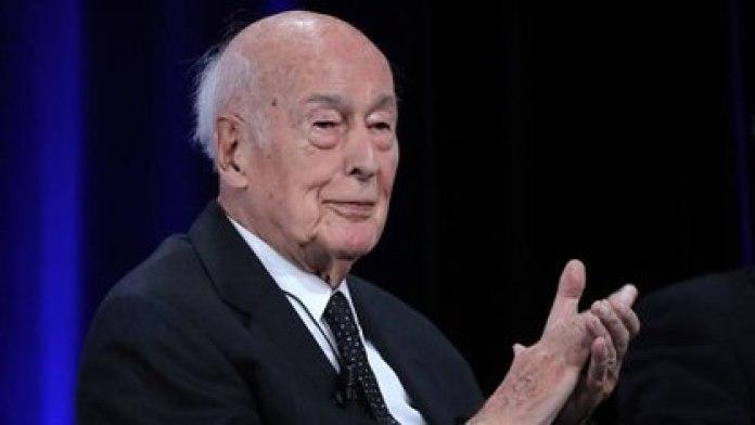 El ex presidente francés Valery Giscard d'Estaing (JACQUES DEMARTHON / AFP)