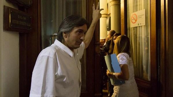 Máximo Kirchner dijo presente (NA)