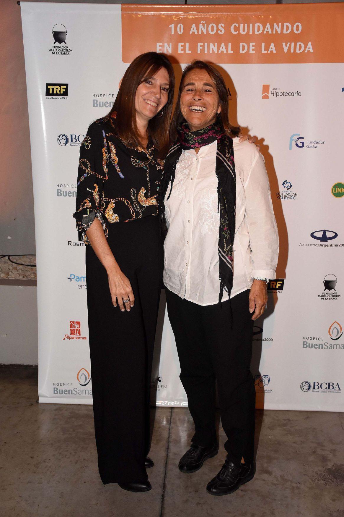 Marga García Santillan y Poli Menéndez