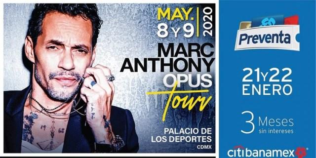 Con esta gira, el cantante de origen puertorriqueño, pretende promocionar su más reciente material discográfico, llamado Opus. (Foto: Ocesa)